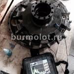 Ультразвуковая дефектоскопия главного цилиндра гидромотора Sisu 500