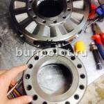 Главный цилиндр и распределитель гидромотора Black Bruin BB6
