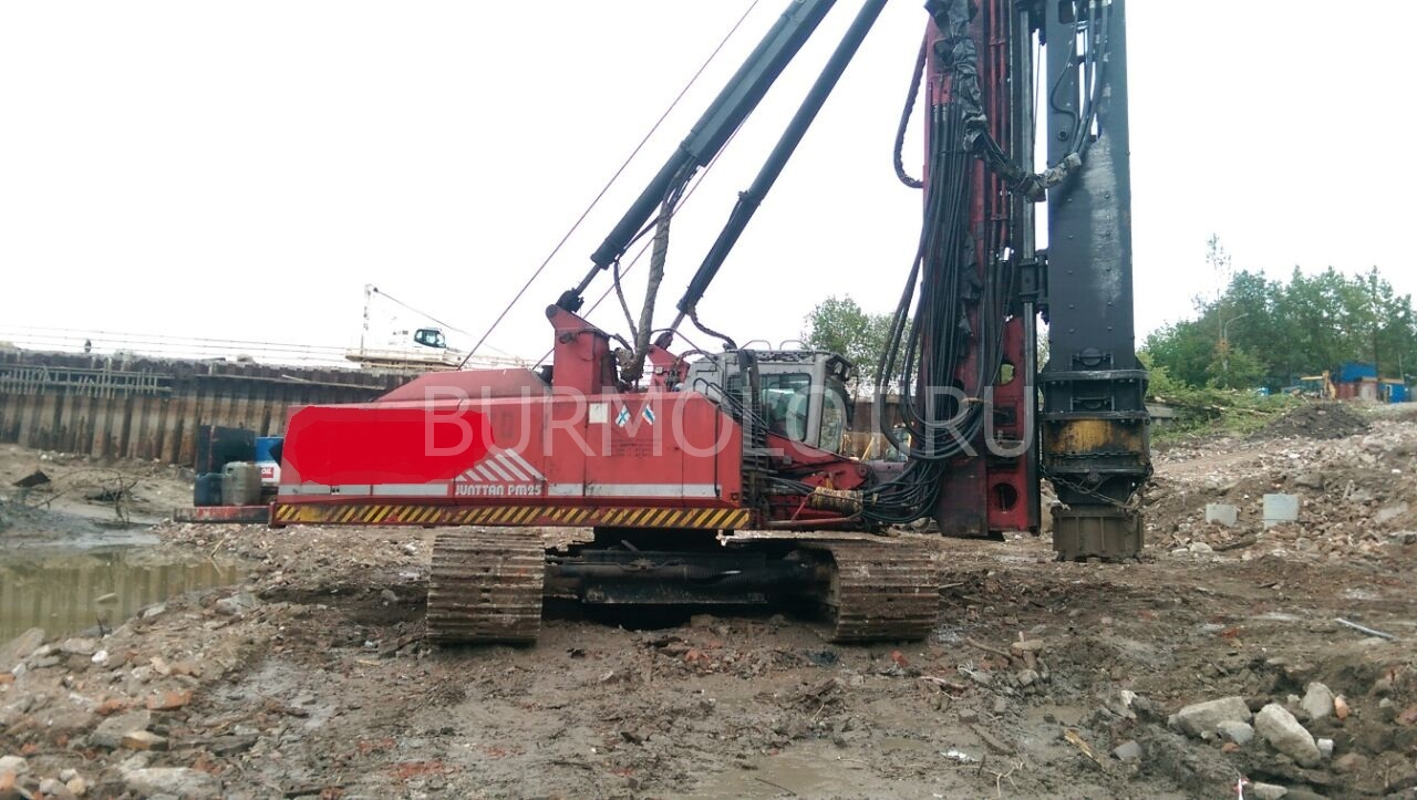 Used pile-driving equipment - Sales and Rentals | Drill and