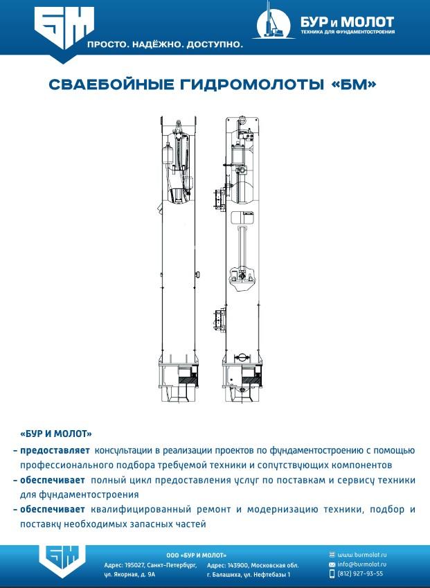 Гидромолоты БМ