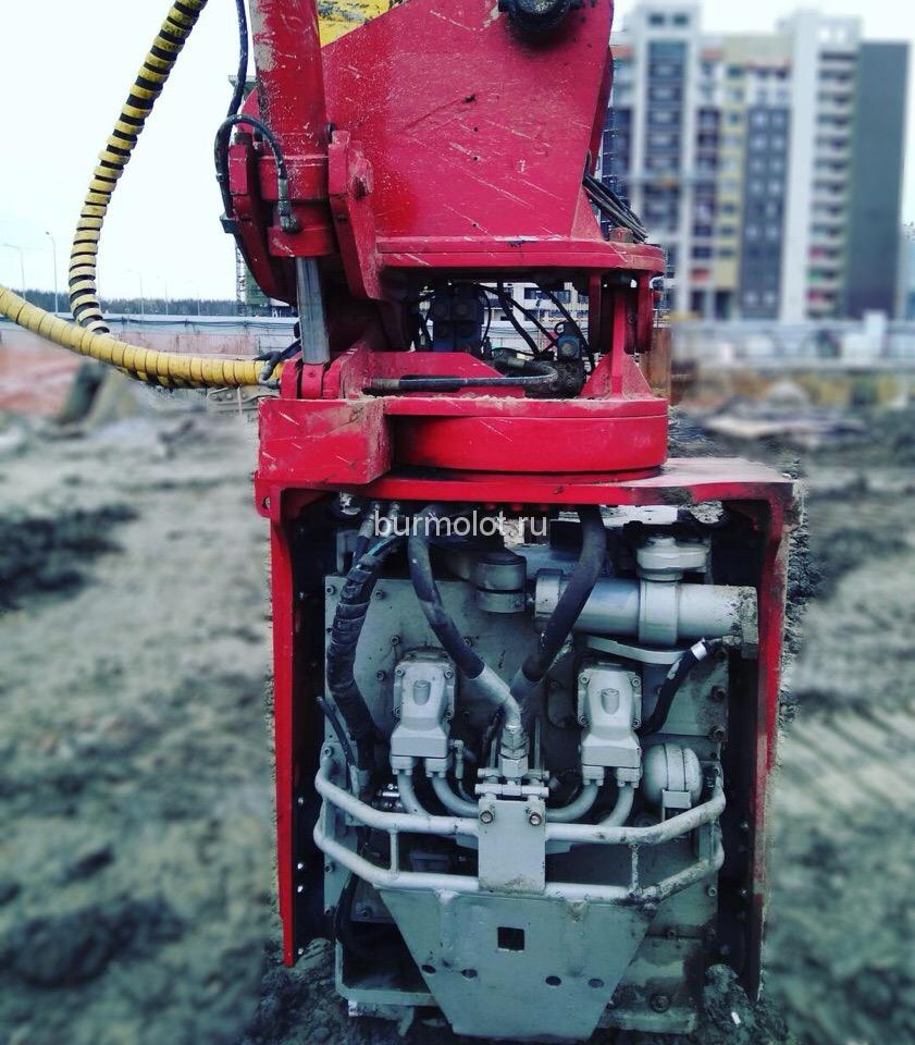 Used vibratory pile hammer - Sales and Rentals | BUR AND MOLOTThe